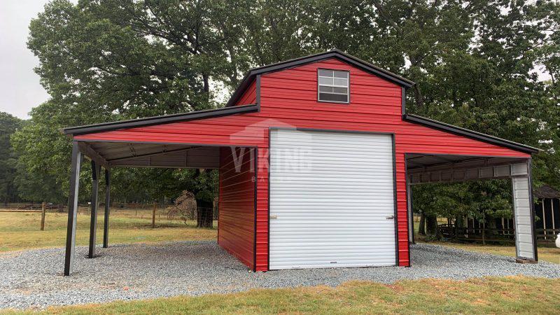 36x20x14 Steel Pole Barn