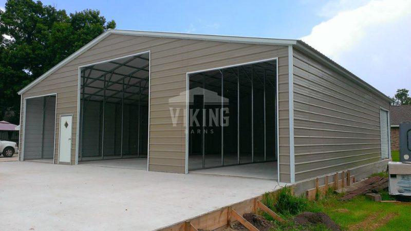 44x41x12 Steel Barn Building